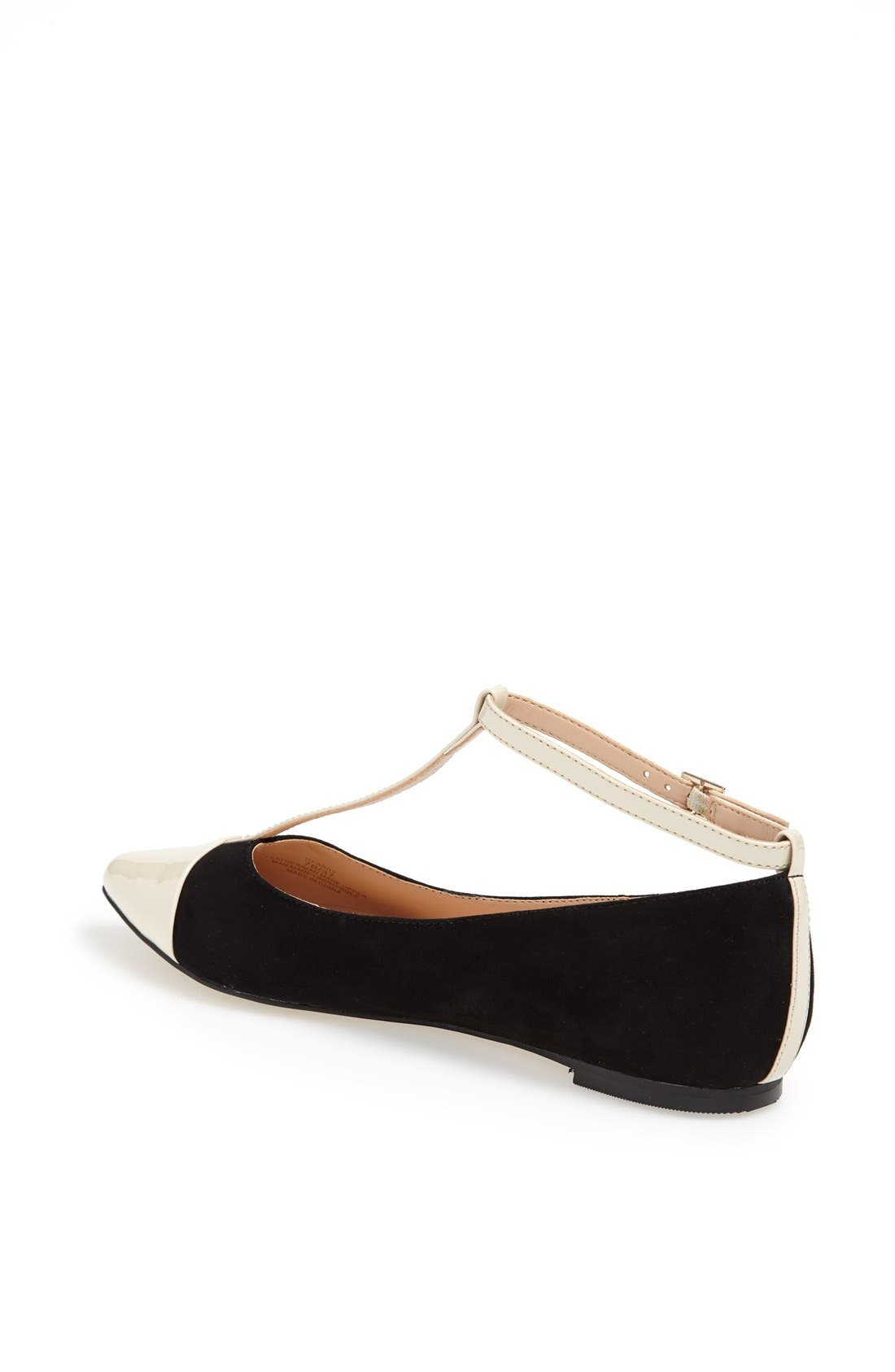 ,                             Julianne Hough for Sole Society 'Addy' Flat,                             Alternate thumbnail 6, color,                             001