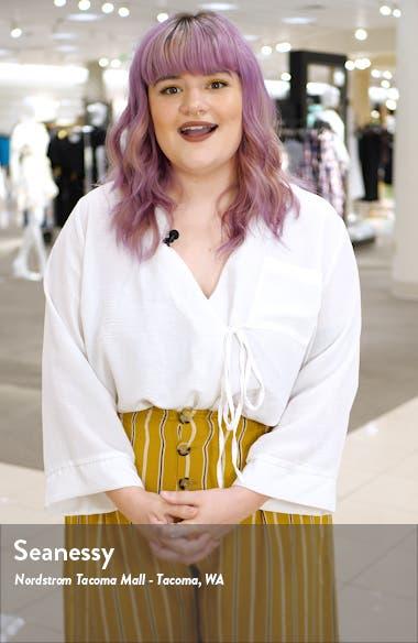 Margo Crossback Linen Blend Midi Dress, sales video thumbnail