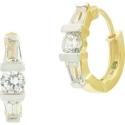 Freida Rothman Celestial Cubic Zirconia Huggie Hoop Earrings