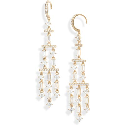Nadri Gala Drama Chandelier Earrings