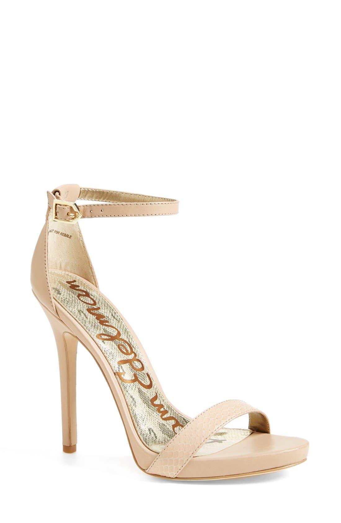 ,                             'Eleanor' Ankle Strap Sandal,                             Main thumbnail 97, color,                             250