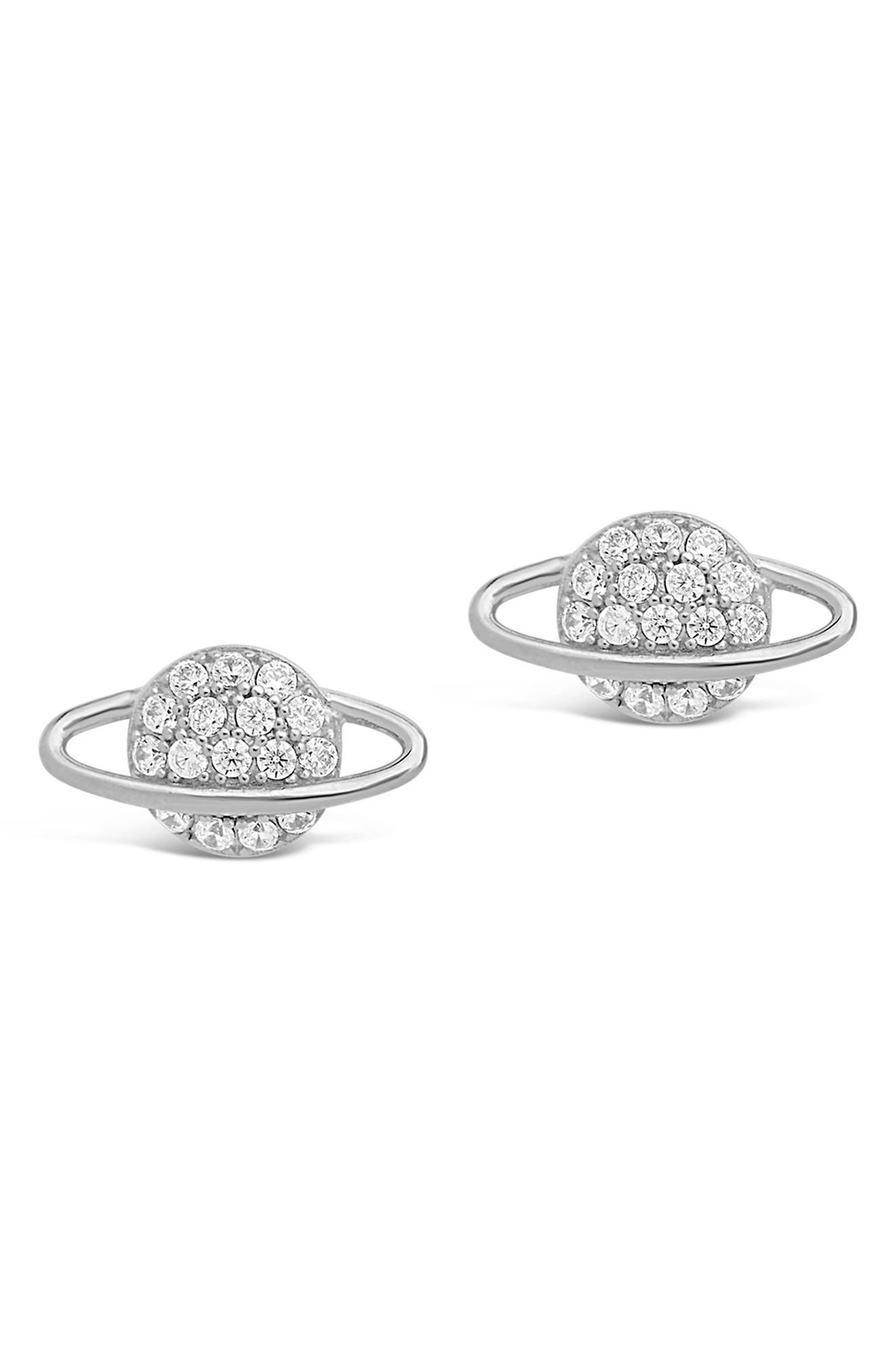 Select Colors Details about  /Round Paved CZ Stud 925 Sterling Silver Post Earrings