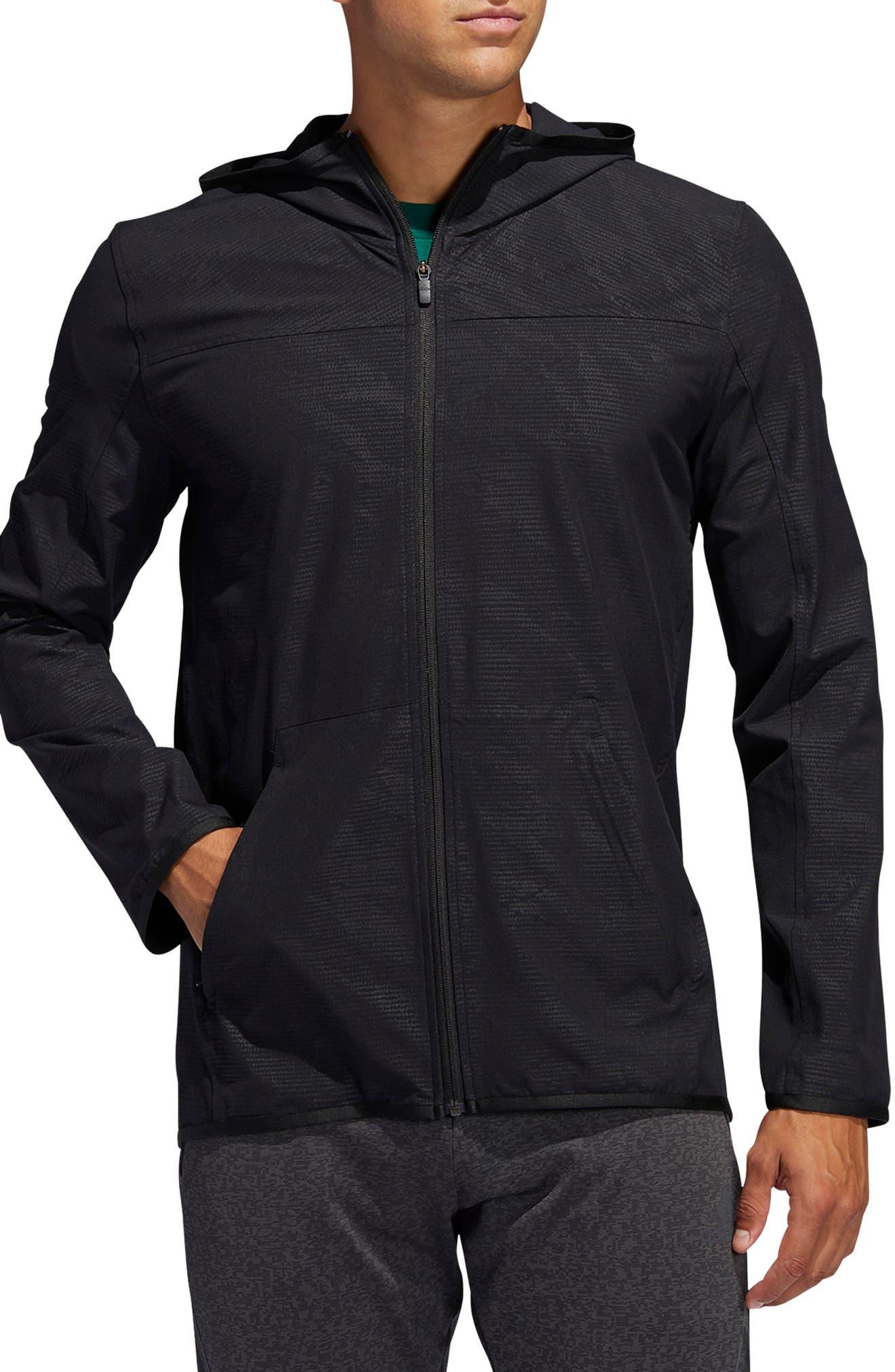 Men's Adidas City Camo Hooded Jacket