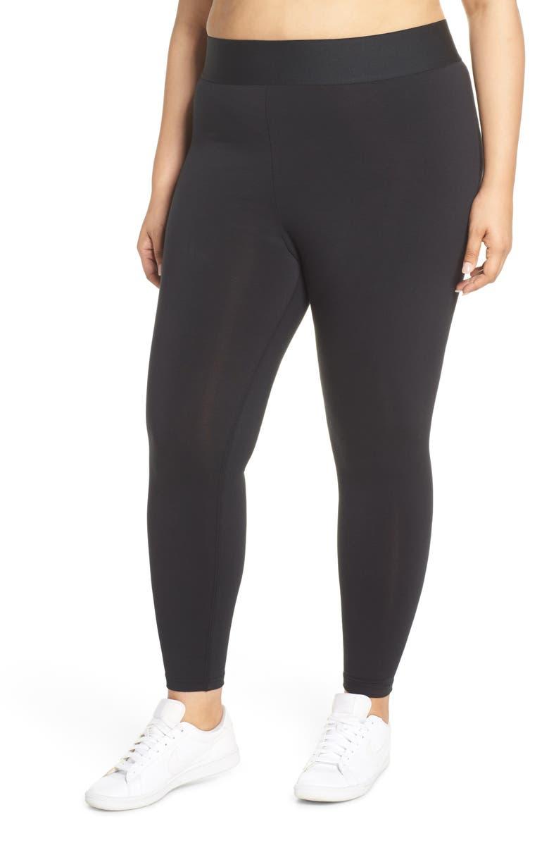 NIKE Sportswear Leg-A-See Logo Leggings, Main, color, 010