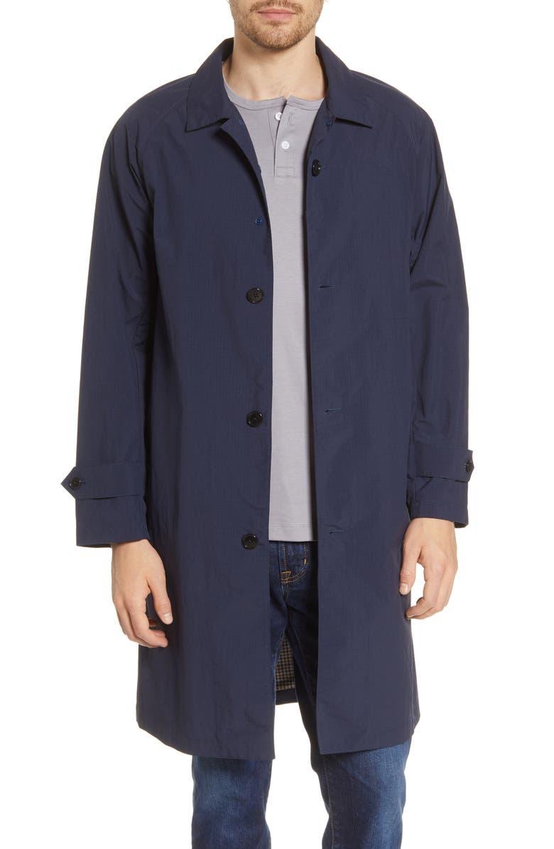 GOLDWIN Bal Water Resistant Long Jacket, Main, color, 400