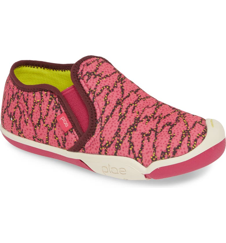 PLAE Migi Slip-On Sneaker, Main, color, ELECTRIC FUCHSIA SURGE