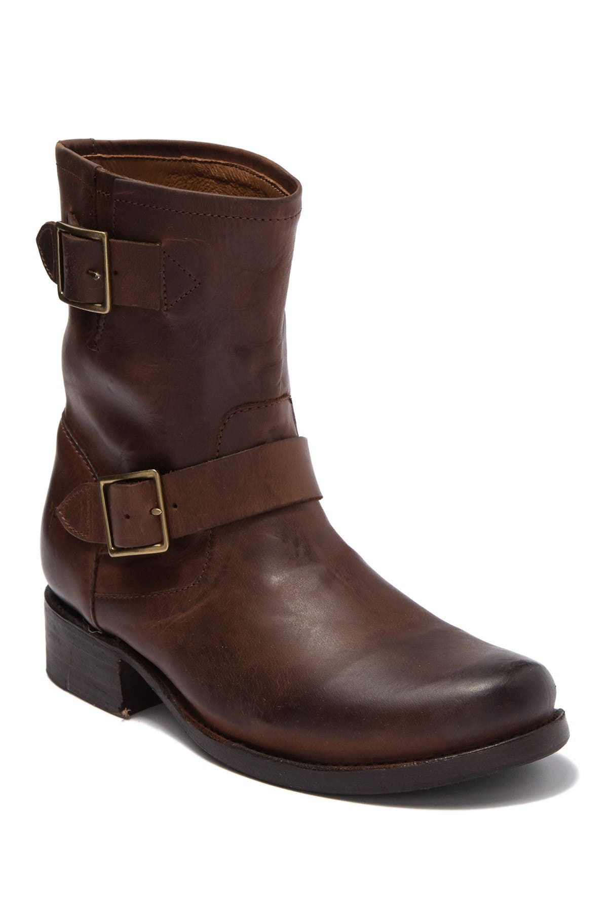 Image of Frye Vicky Engineer Leather Boot