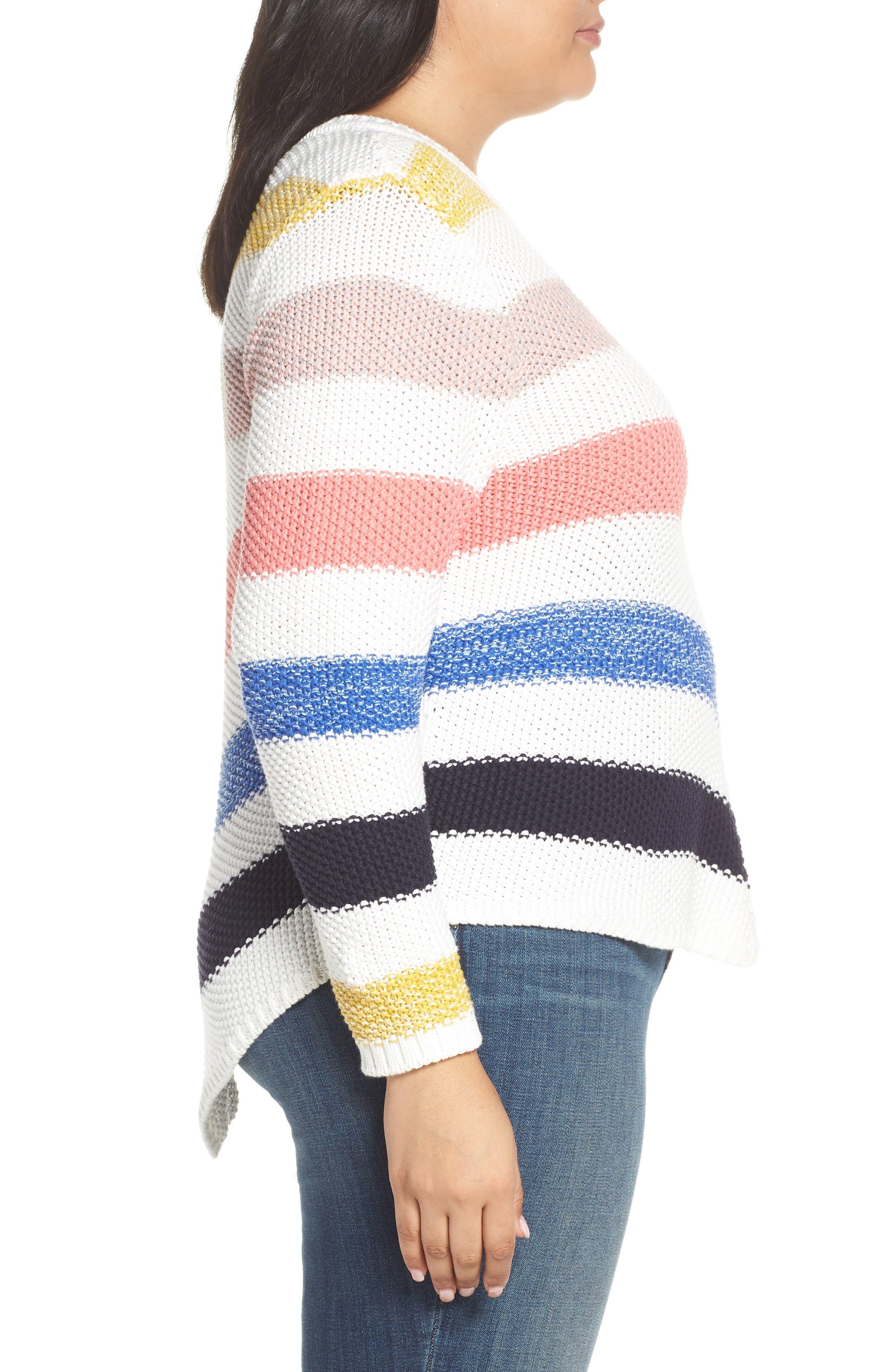 ,                             Stitch Stripe Sweater,                             Alternate thumbnail 9, color,                             901