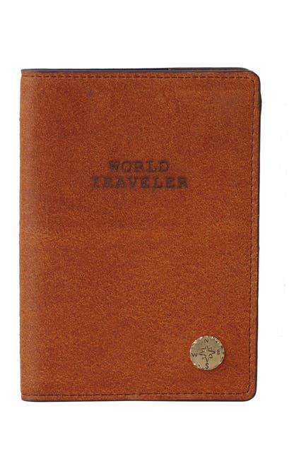 Image of Most Wanted USA World Traveler Leather Passport Holder