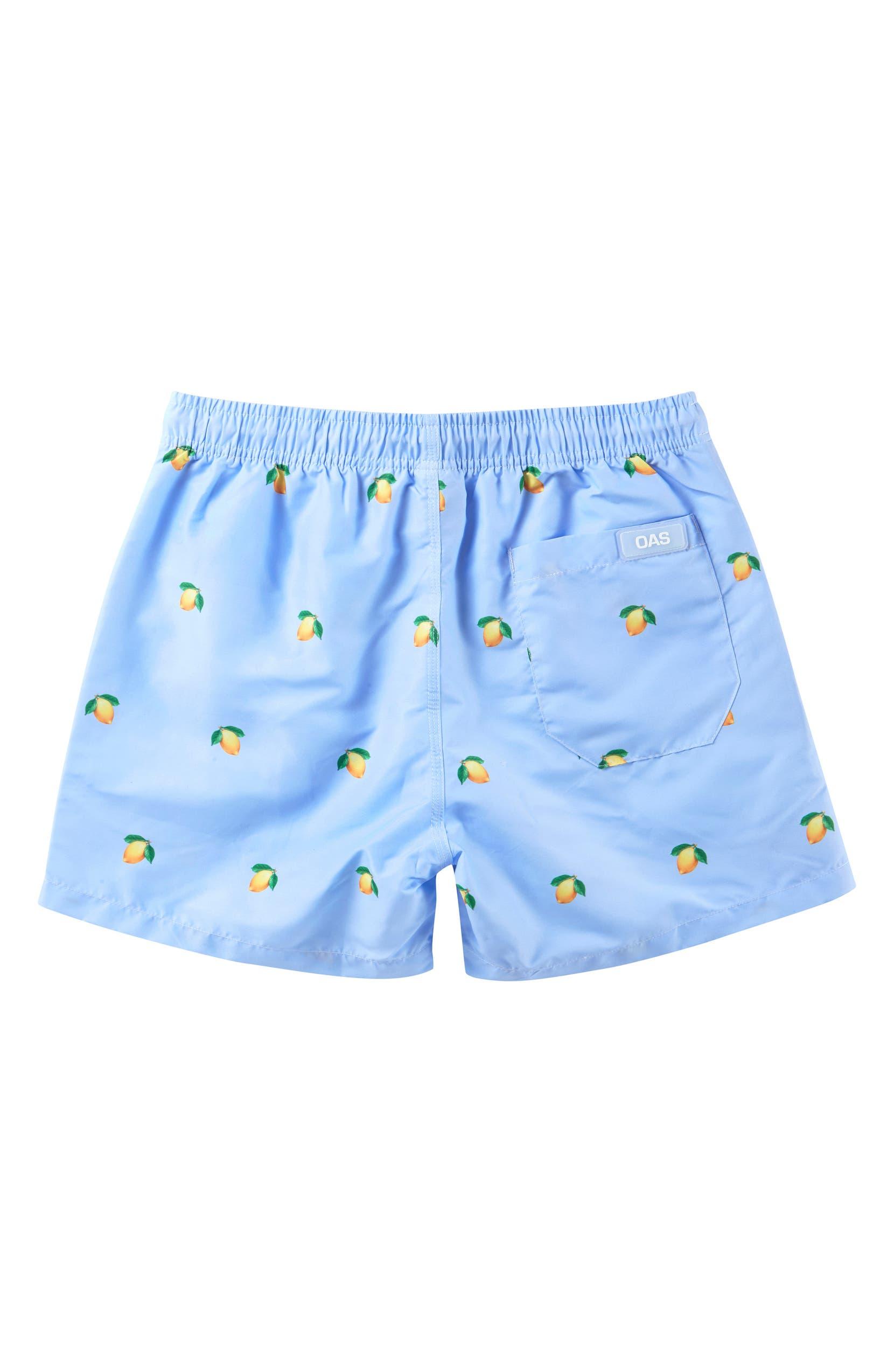 b55101218564 OAS SWIM Lemon Swim Trunks (Toddler Boys, Little Boys & Big Boys) |  Nordstrom