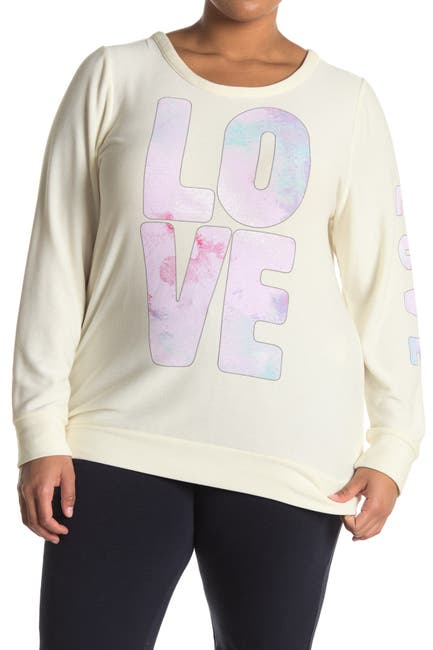 Image of Chaser Love Cozy Brushed Knit Pullover