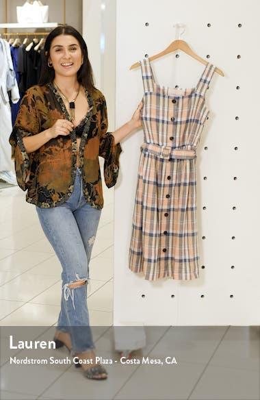 Peyton Belted Linen Blend Sundress, sales video thumbnail