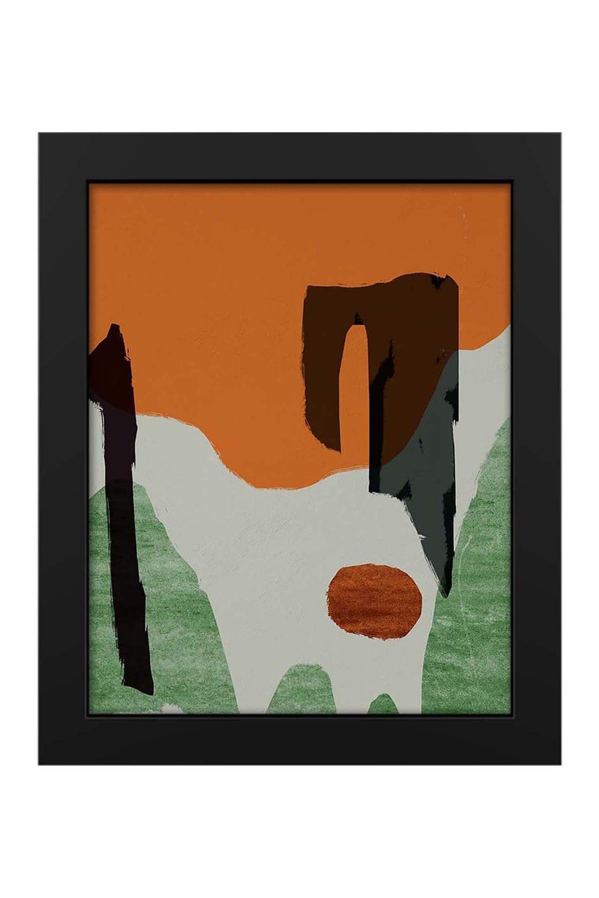 """Image of PTM Images Abstract Cave 19""""x23"""" Framed MDF Canvas"""