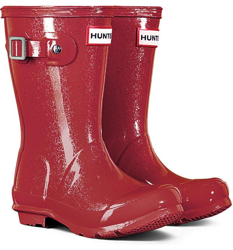 272c156b8e8c Hunter Original Glitter Rain Boot (Toddler, Little Kid & Big Kid ...