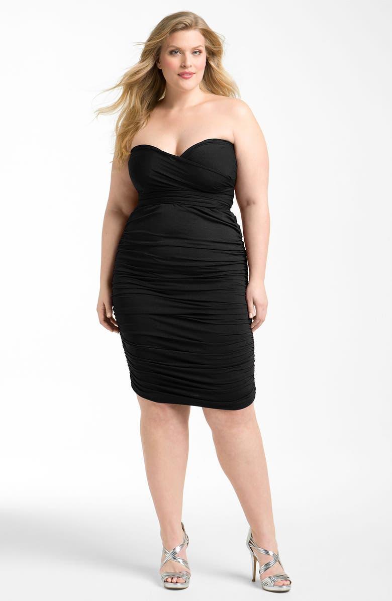 MONIF C 'Marilyn' Convertible Jersey Dress, Main, color, Black