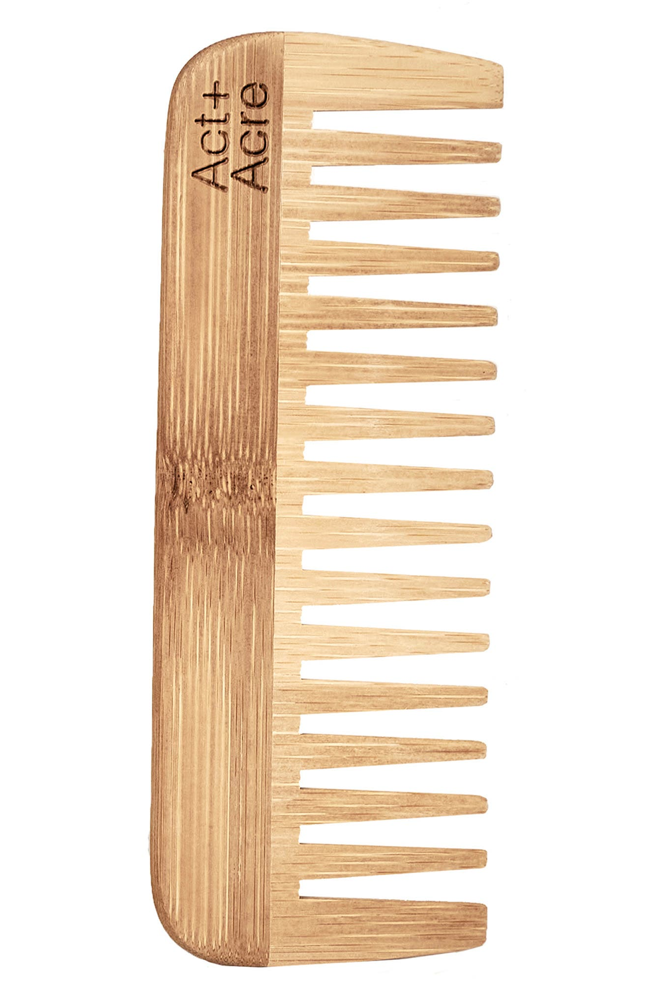 Act+Acre Act + Acre Bamboo Comb in No Color at Nordstrom