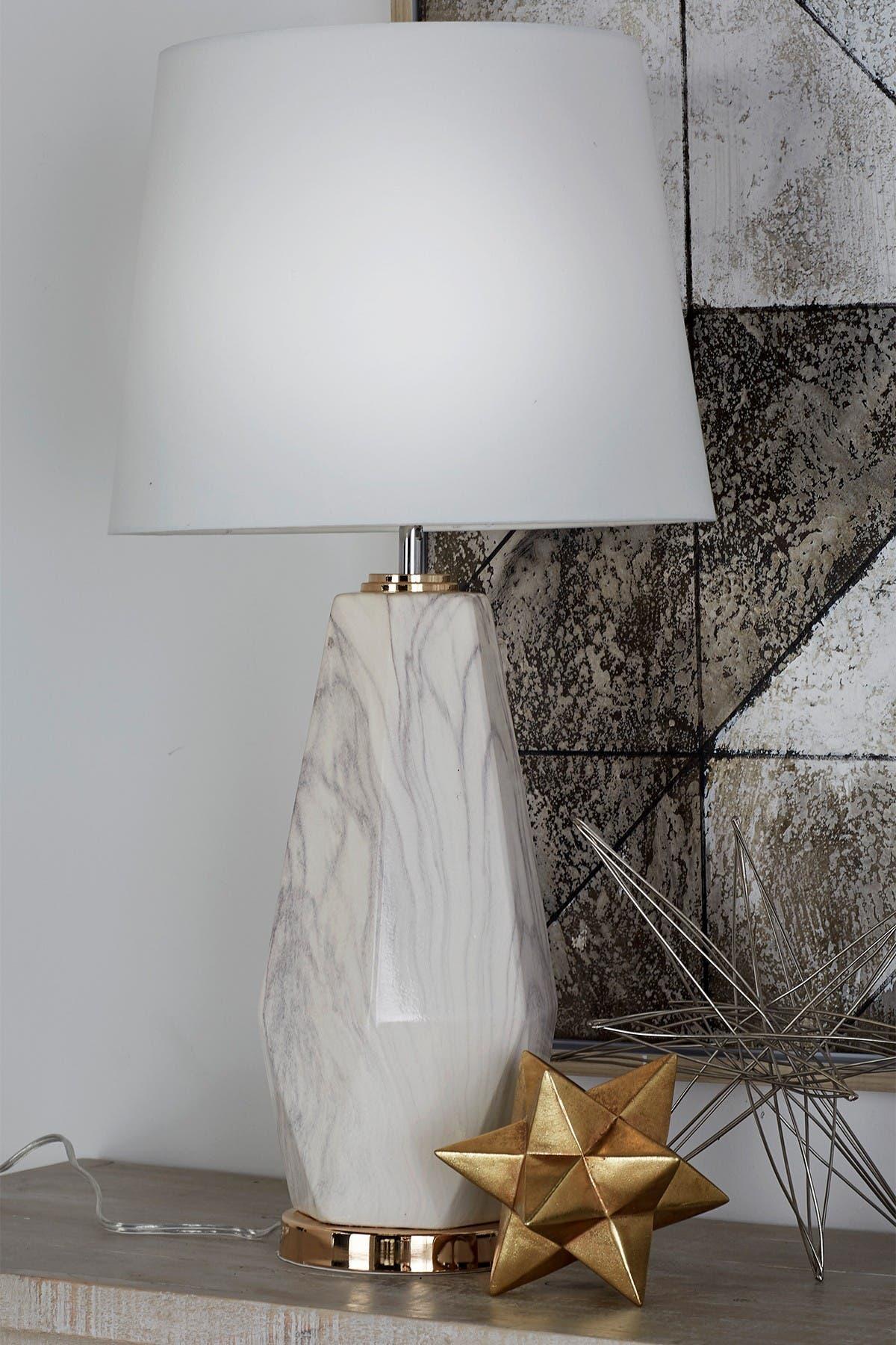 Image of CosmoLiving by Cosmopolitan Ceramic Table Lamp