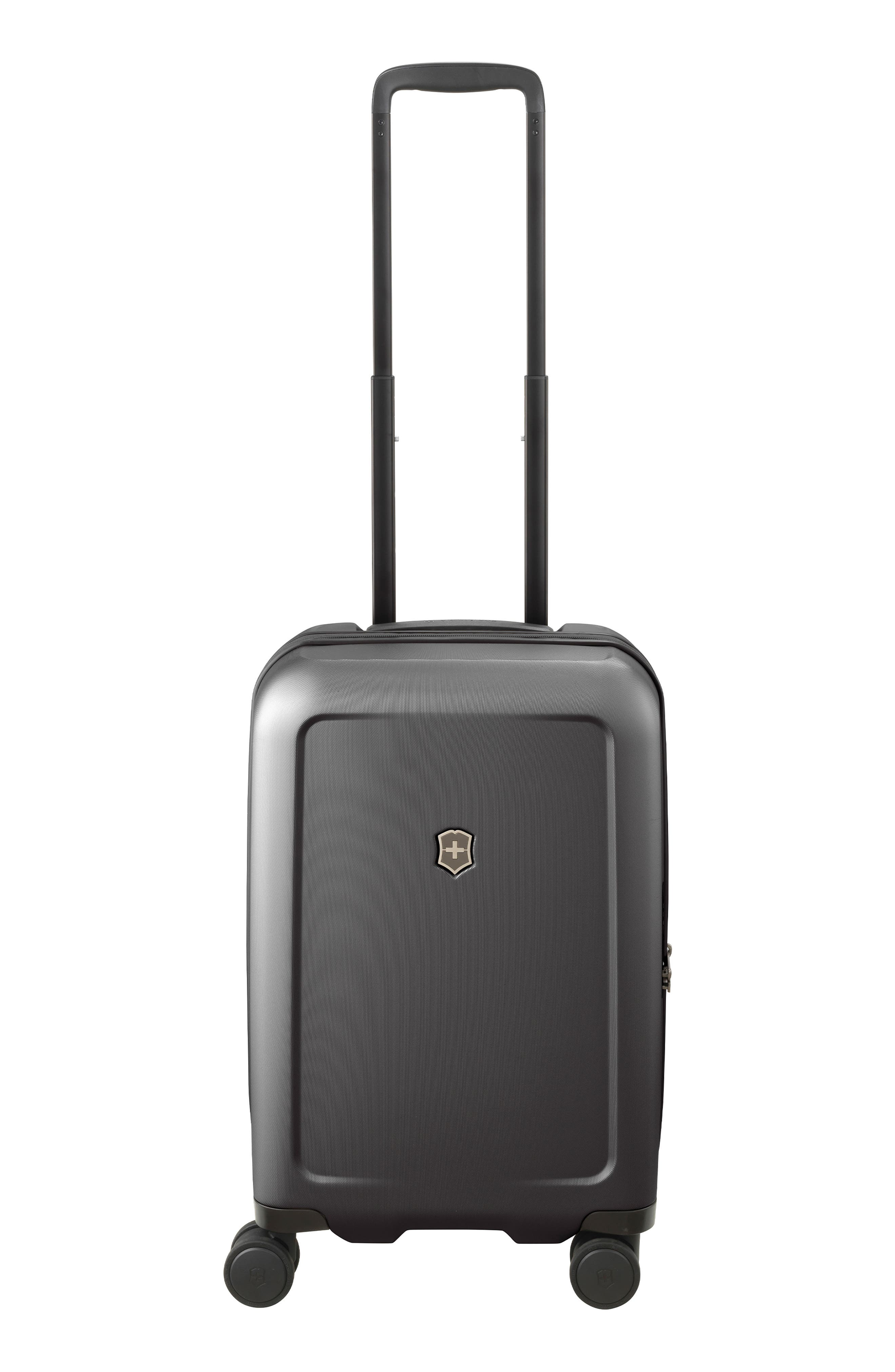 Victorinox Swiss Army Connex Frequent Flyer 22-inch Spinner Hardside Carry-on In Black