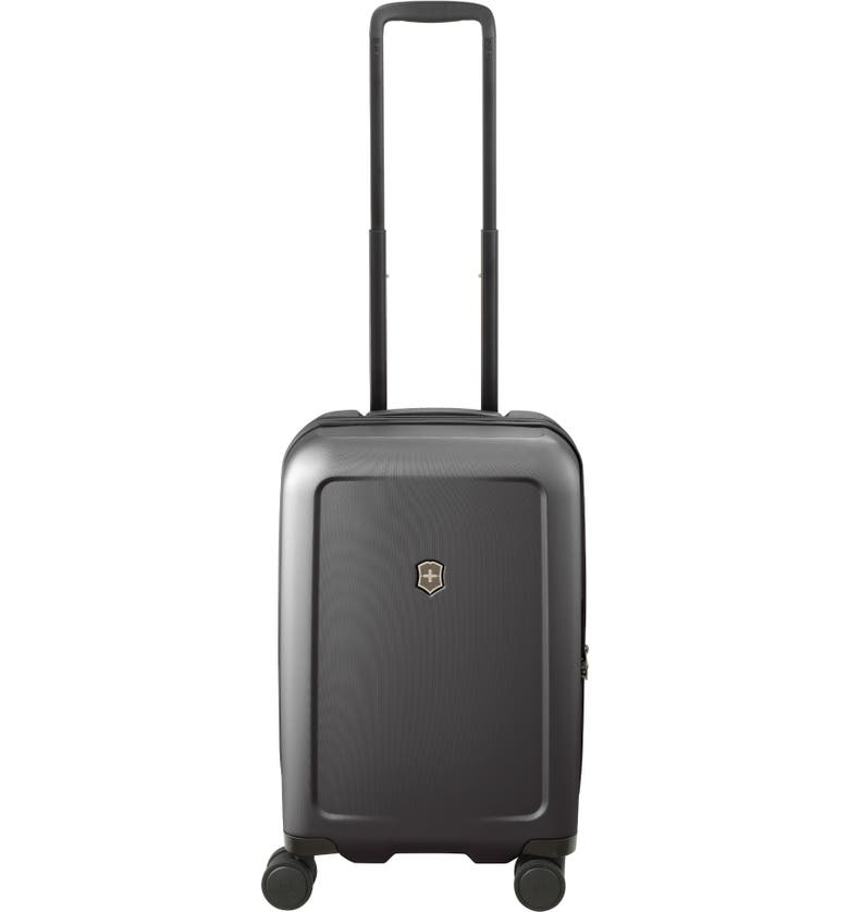VICTORINOX SWISS ARMY<SUP>®</SUP> Connex Frequent Flyer 22-Inch Spinner Hardside Carry-On, Main, color, BLACK