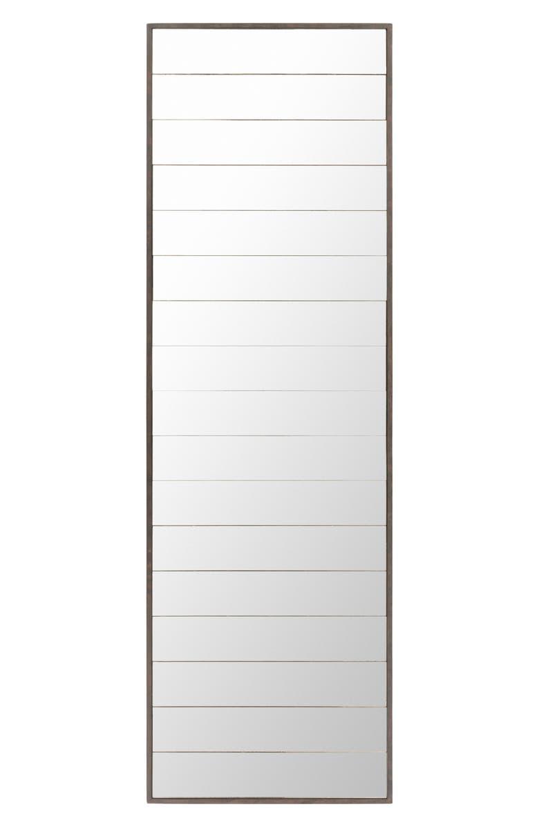 SURYA HOME Albert Wall Mirror, Main, color, SILVER