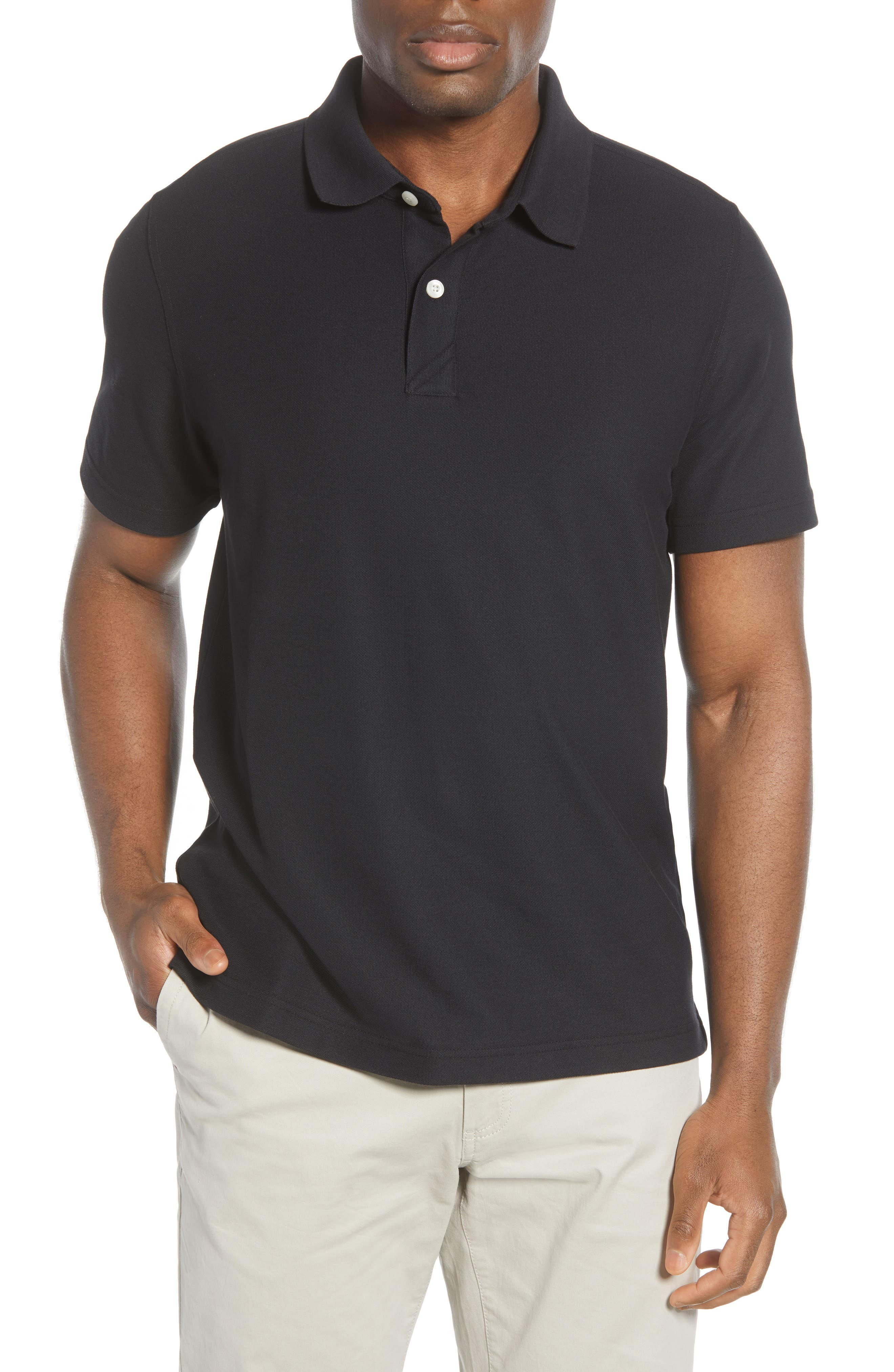 Cut from moisture-wicking DryTec cotton, this casually handsome short-sleeve polo will keep you cool and comfortable all day. Style Name: Cutter & Buck Breakthrough Polo. Style Number: 5942233 2. Available in stores.