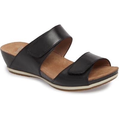 Dansko Vienna Slide Sandal- Black