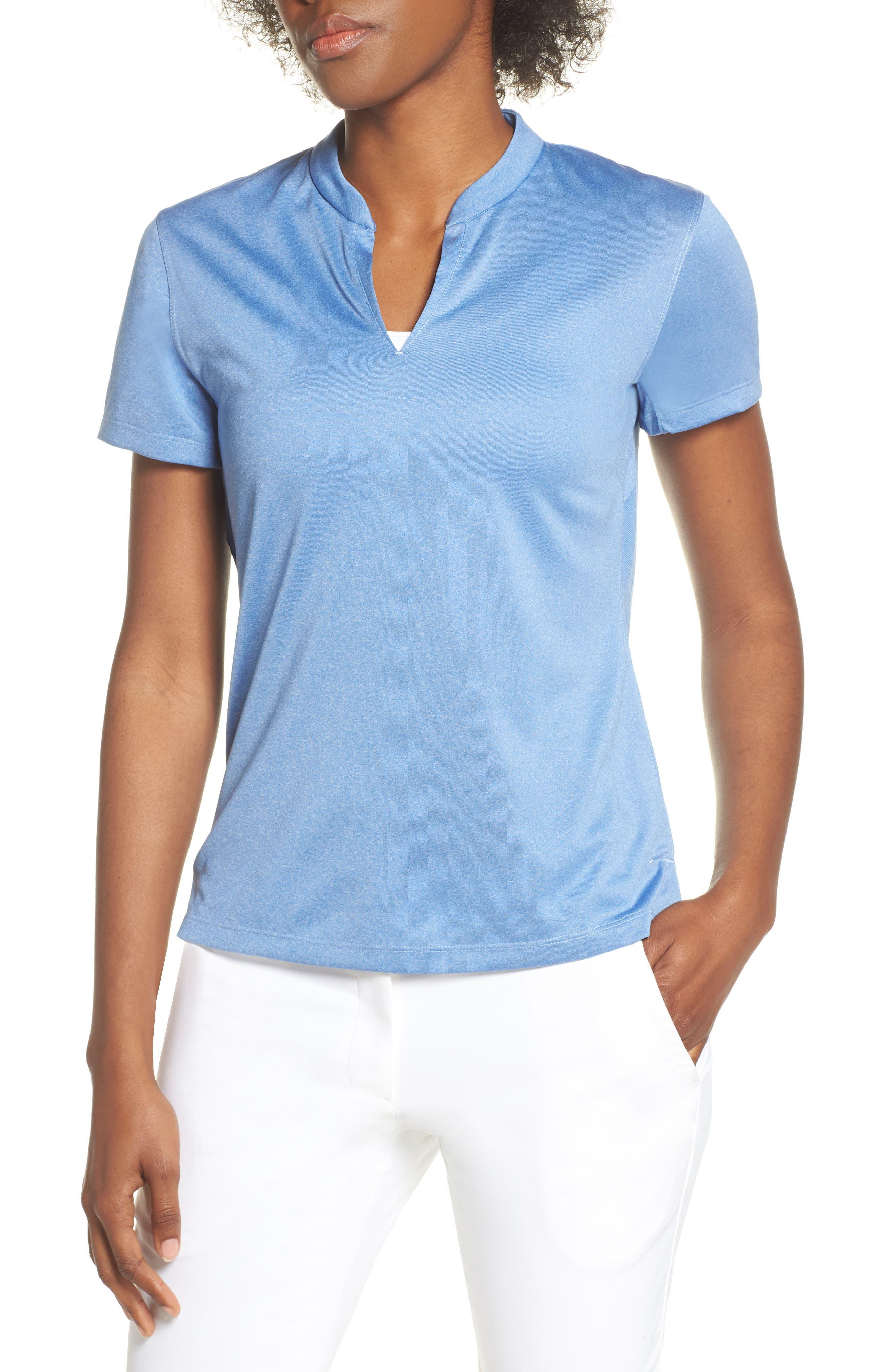 Tech Knit Golf Polo, Main, color, ALUMINUM/ ALUMINUM