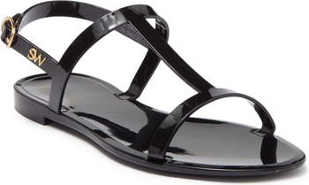 Stuart Weitzman Mellie T-Strap Slingback Sandal
