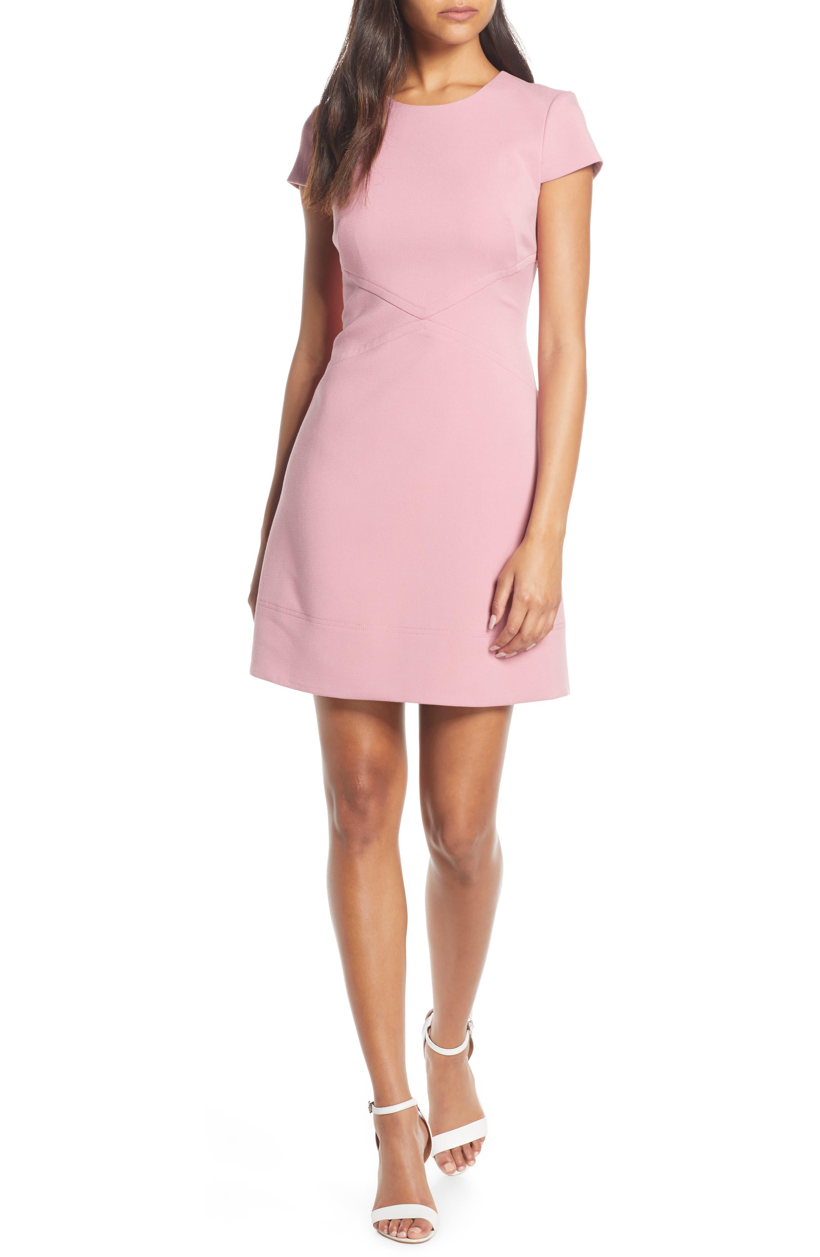 Harper Rose Short Sleeve Dress, Pink