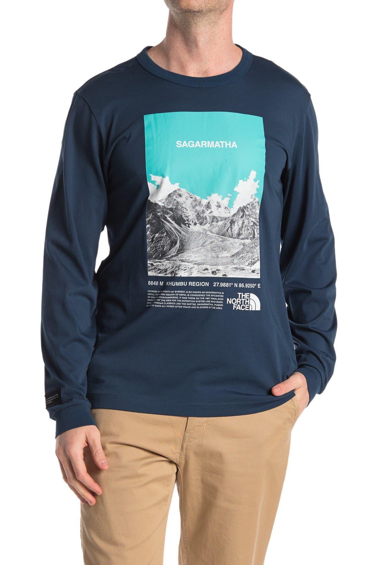 Image of The North Face Sagarmatha Long Sleeve T-Shirt