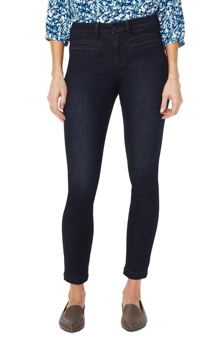 NYDJ Ami Welt Pocket Skinny Jeans, Main, color, CLEAN QUENTIN