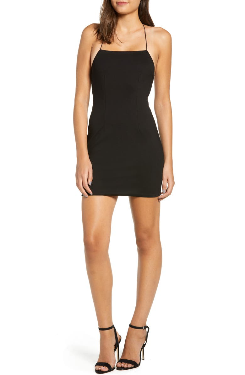 TIGER MIST Clarity Dress, Main, color, 001