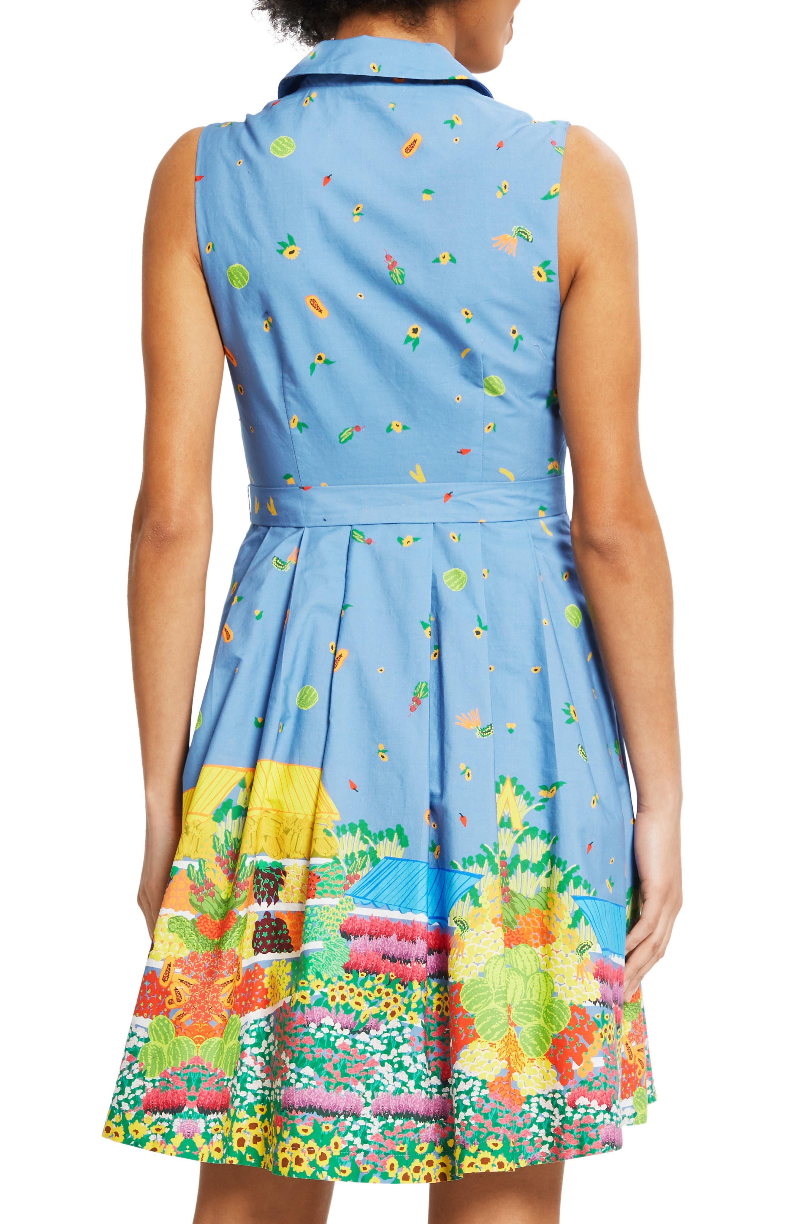 ,                             Community Brunch Sleeveless Cotton Shirtdress,                             Alternate thumbnail 2, color,                             420