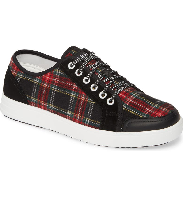 ALEGRIA Lyriq Sneaker, Main, color, FLANNELY BLACK FABRIC