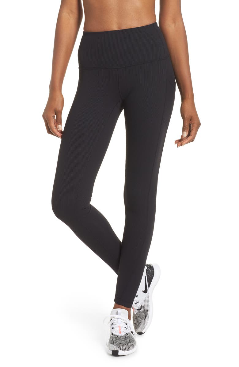 80237e02df Divine High Waist Rib Leggings, Main, color, 001
