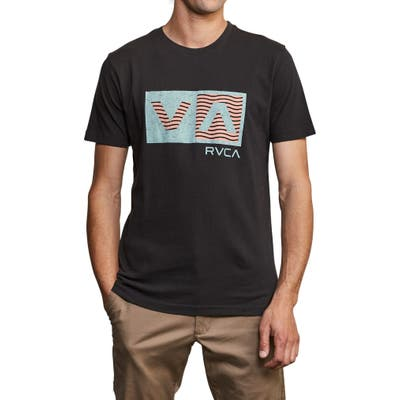 Rvca Balance Logo Graphic T-Shirt