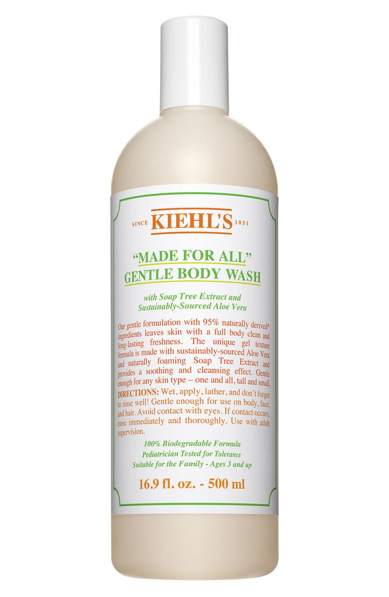 KIEHL'S SINCE 1851 Made For All Gentle Body Wash, Main, color, NO COLOR