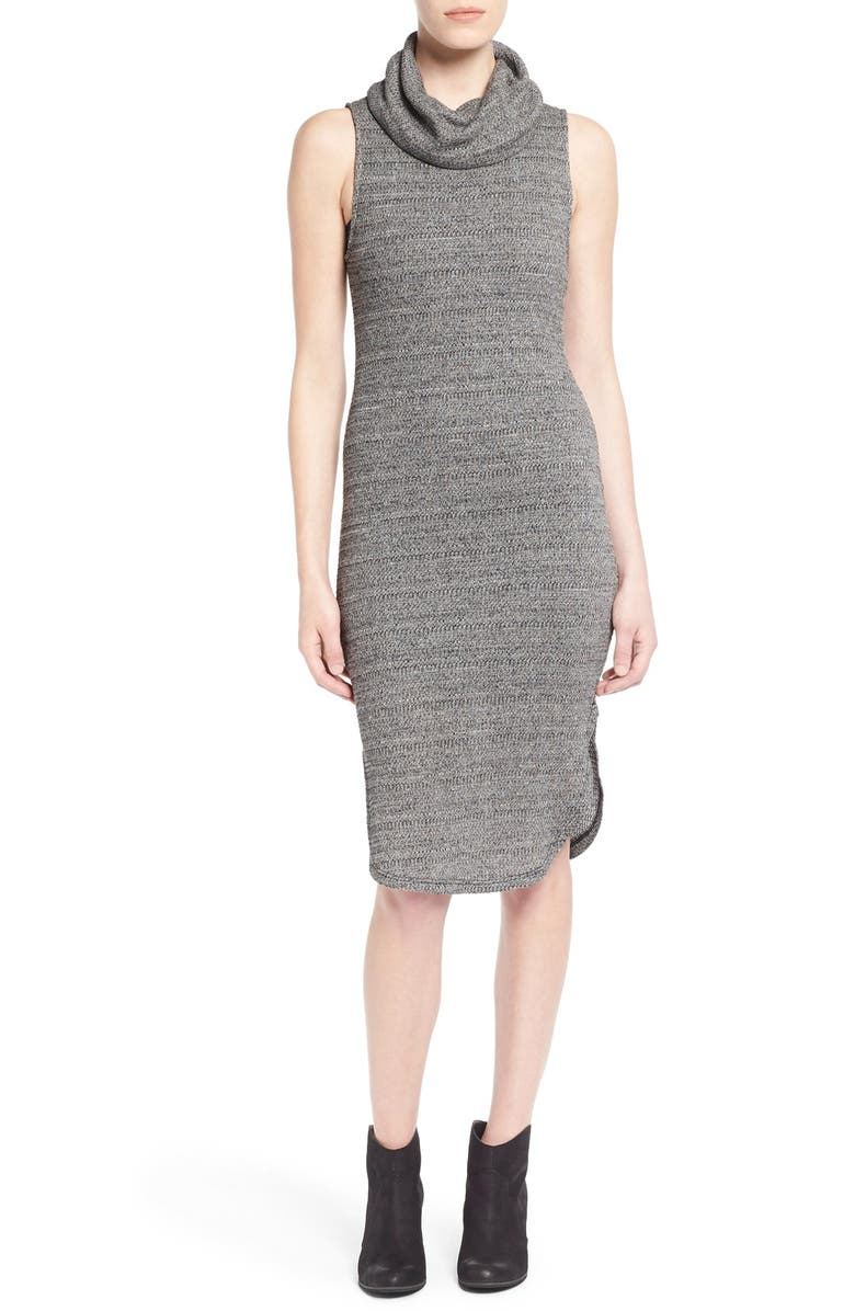 --- Sleeveless Turtleneck Sweater Dress, Main, color, 096
