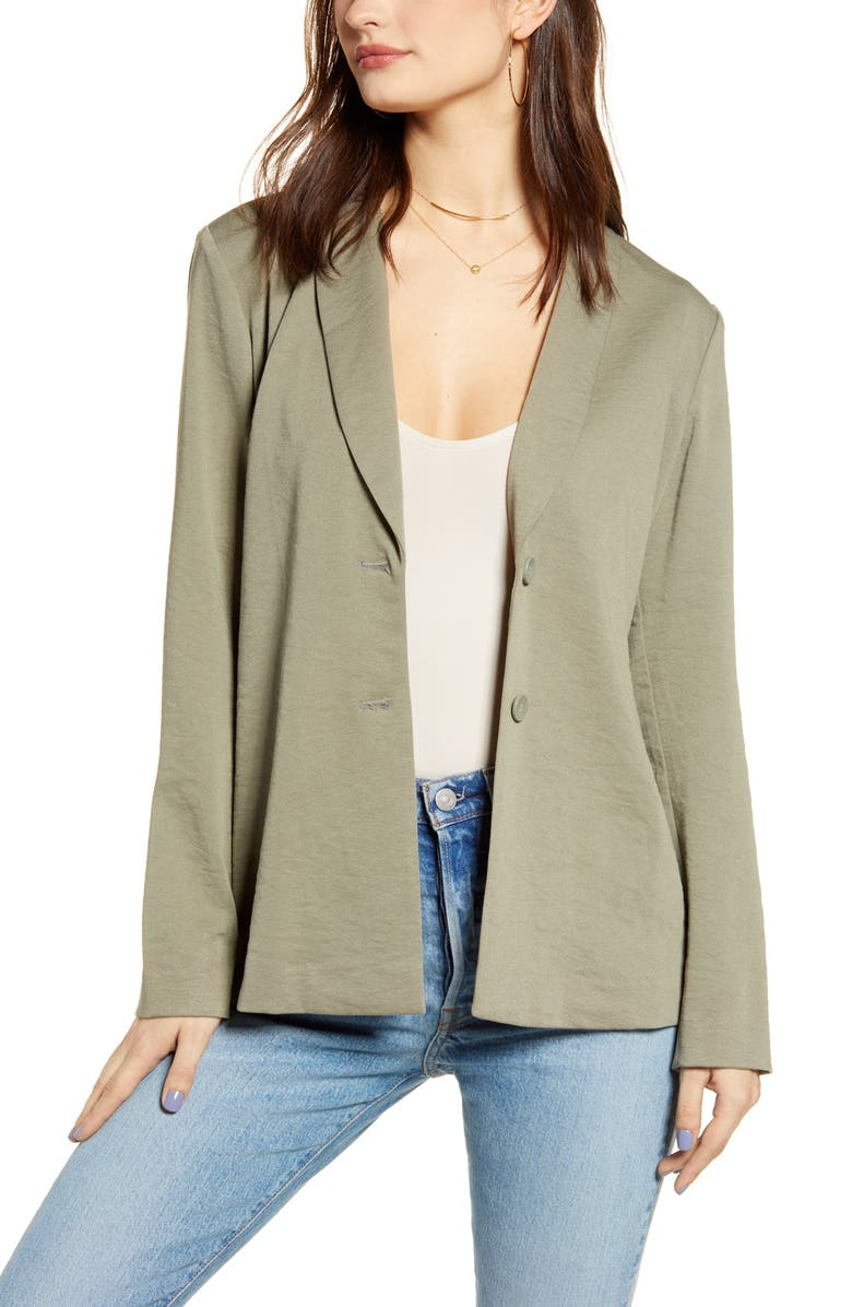 LEITH Belted Soft Jacket, Main, color, 310