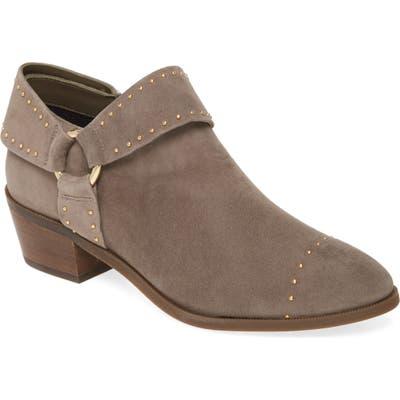 Taryn Rose Sage Leather Bootie- Grey