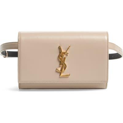 Saint Laurent Kate Leather Belt Bag -