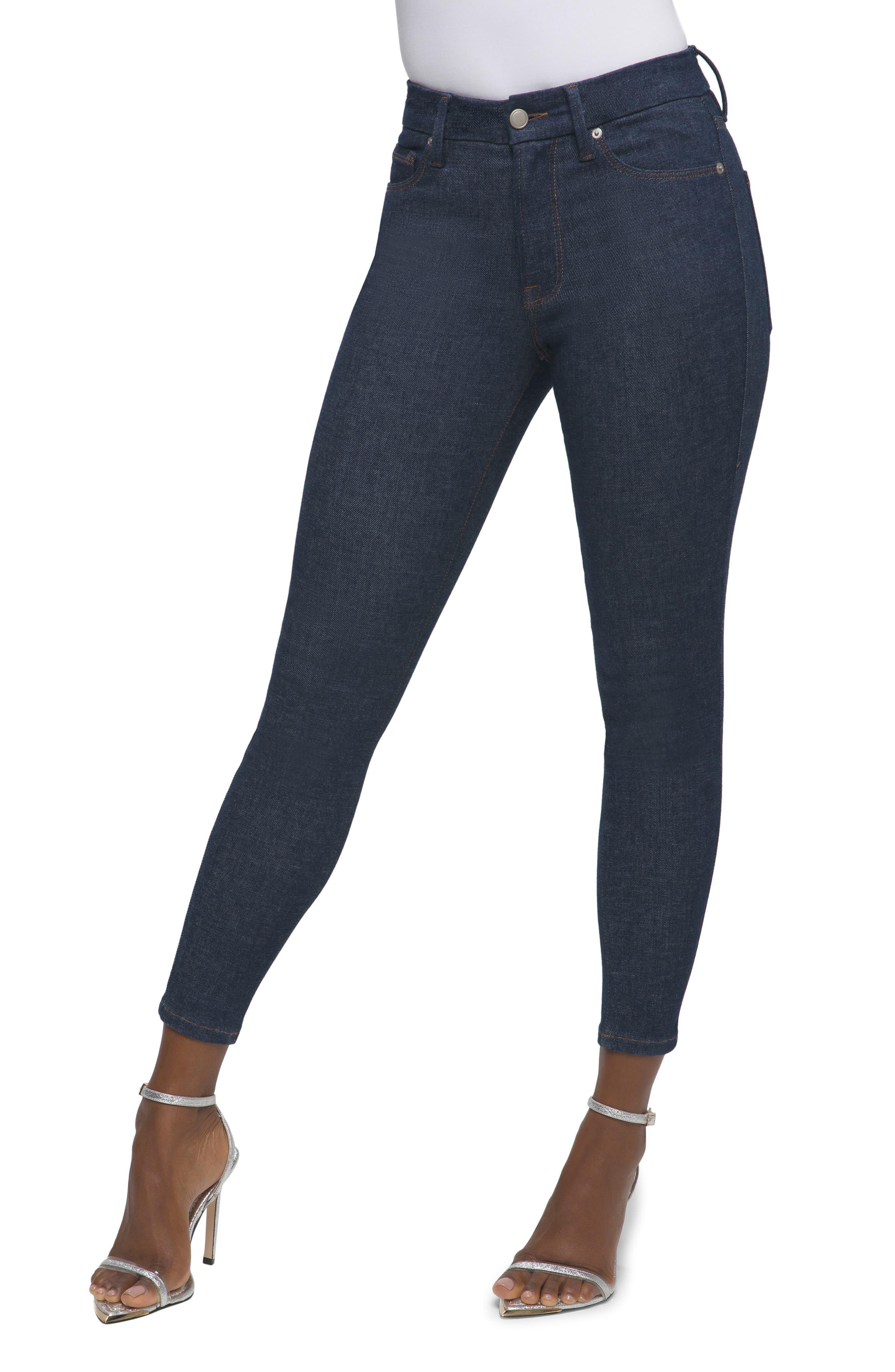 Women's Good American Always Fits Ankle Skinny Jeans