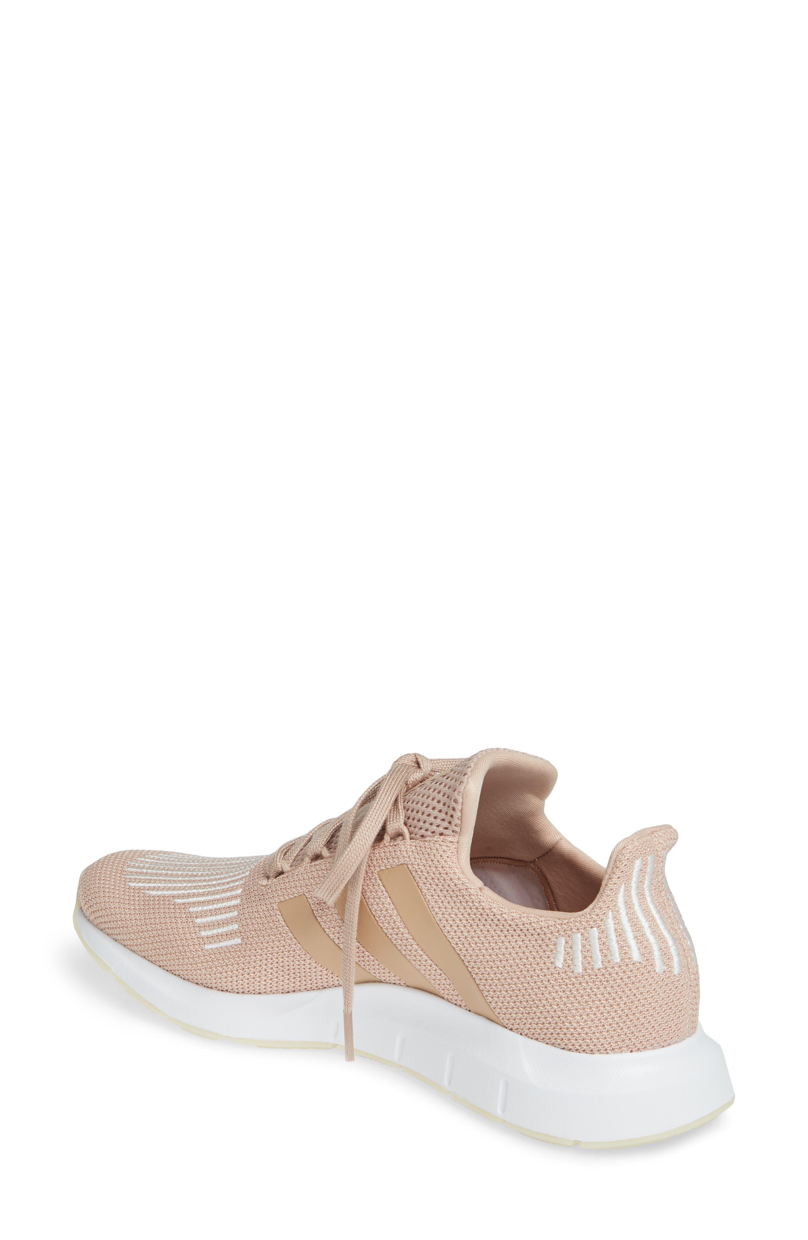 ,                             Swift Run Sneaker,                             Alternate thumbnail 2, color,                             ASH PEARL/ OFF WHITE/ WHITE