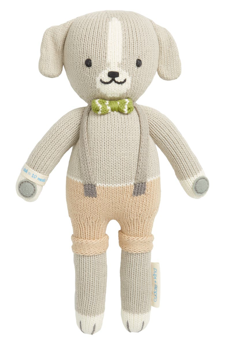 CUDDLE+KIND cuddle + kind Noah the Dog Stuffed Animal, Main, color, 020