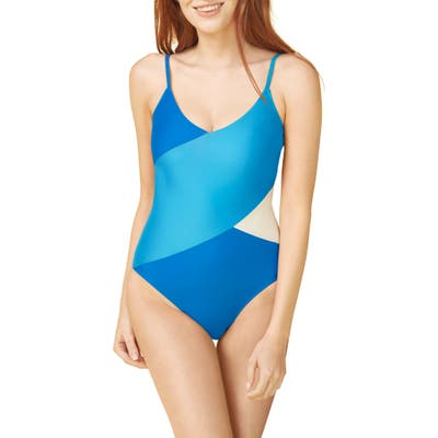 Summersalt The Marina One-Piece Swimsuit, Blue