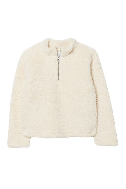 Image of Harper Canyon Faux Shearling Pullover