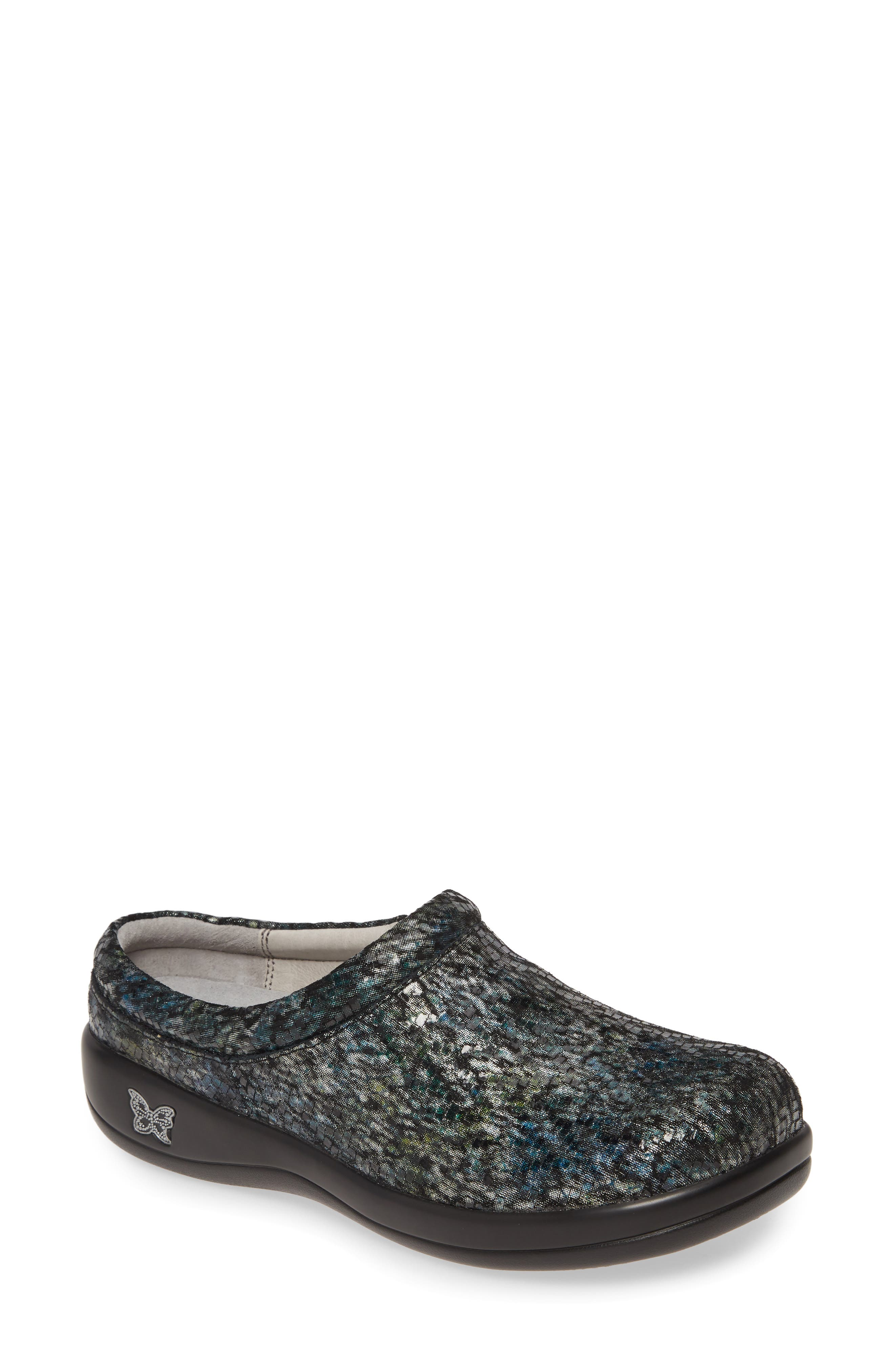 A lightweight rocker platform perfects the all-day ease of a classic clog designed with plenty of plush, memory-foam cushioning. Style Name: Alegria \\\'Kayla\\\' Clog (Women). Style Number: 620913. Available in stores.