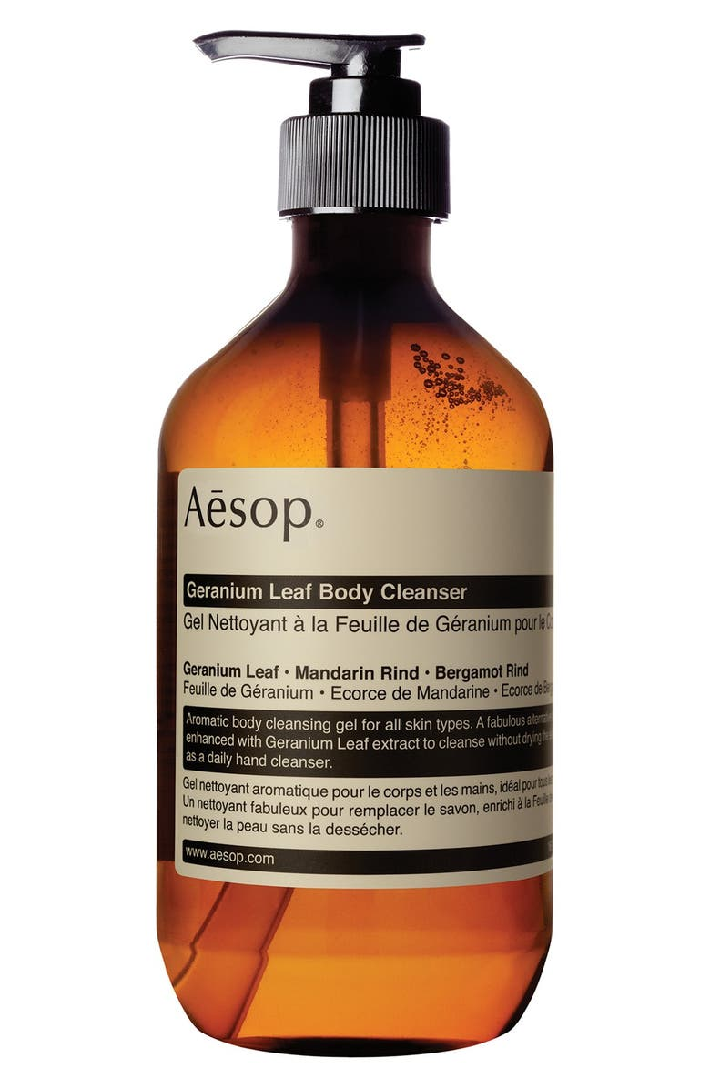AESOP Geranium Leaf Body Cleanser, Main, color, NONE