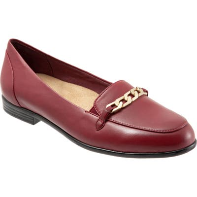 Trotters Anastasia Flat, Red