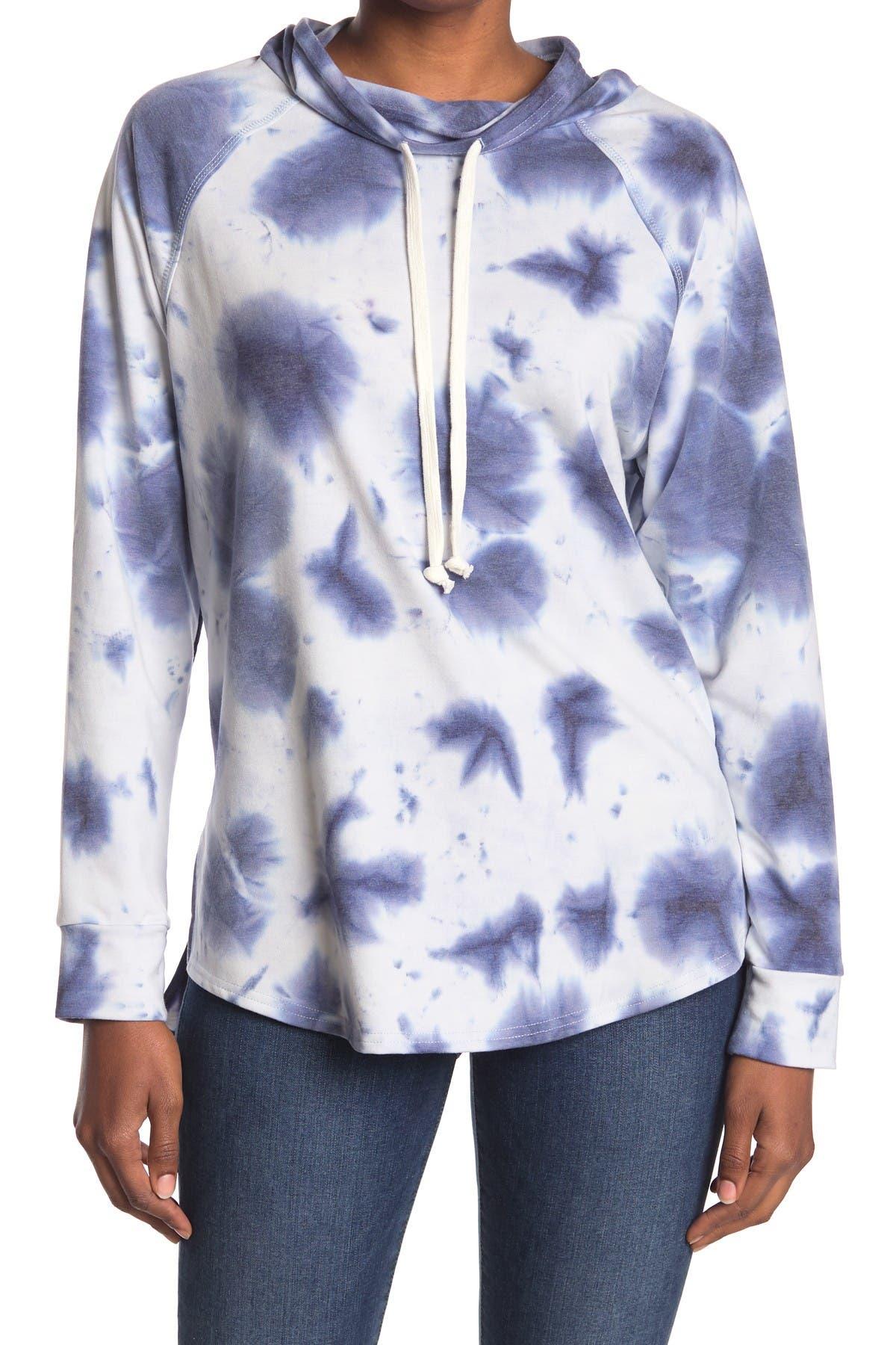 hymyyxgs Womens Fashion Long Sleeve Knit Hoodie Striped Color Block Drawstring Hood Sweatshirt Top Blouse
